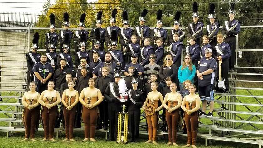 SBRHS Blue Raider Marching Band - November 4, 2017 - Nationals 4