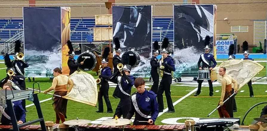 SBRHS Blue Raider Marching Band - November 5, 2017 - NESBA Finals 1