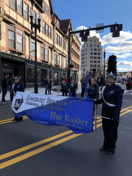 SBRHS at Quincy Christmas Parade 2017 - Pic 07