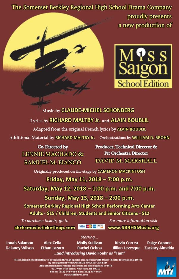 Image of Miss Saigon Poster for Social Media
