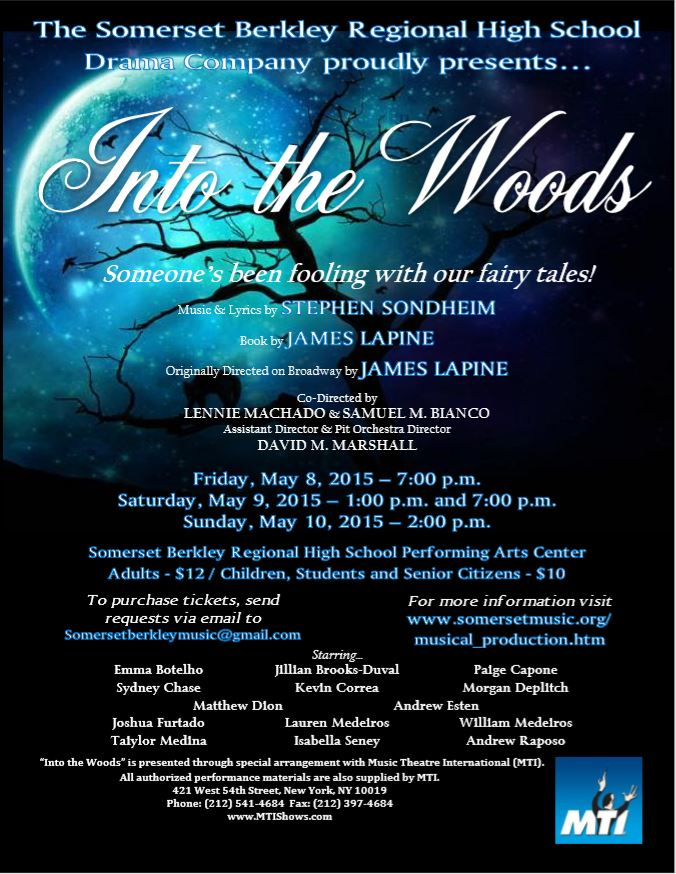 Into the Woods Production Poster 2