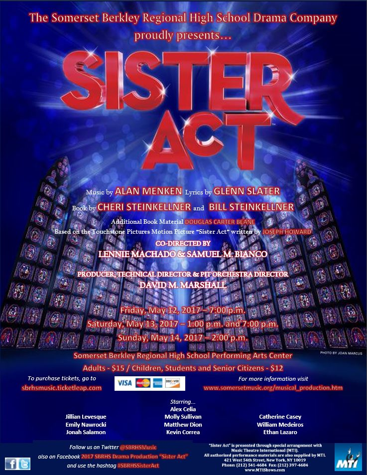 Sister Act Production Poster Letter Format - FINAL