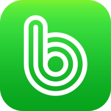BAND app logo green