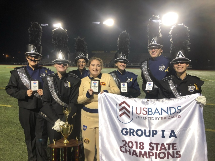 SBRHS Blue Raider Marching Band – October 30, 2018 – USBands NE Championships 1