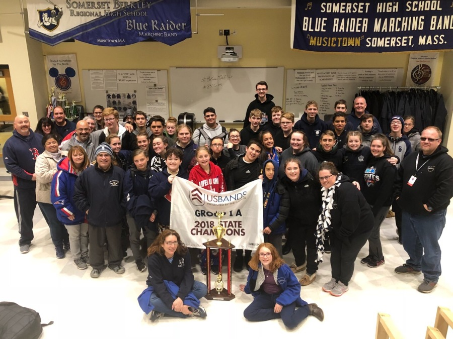 SBRHS Blue Raider Marching Band – October 30, 2018 – USBands NE Championships 2