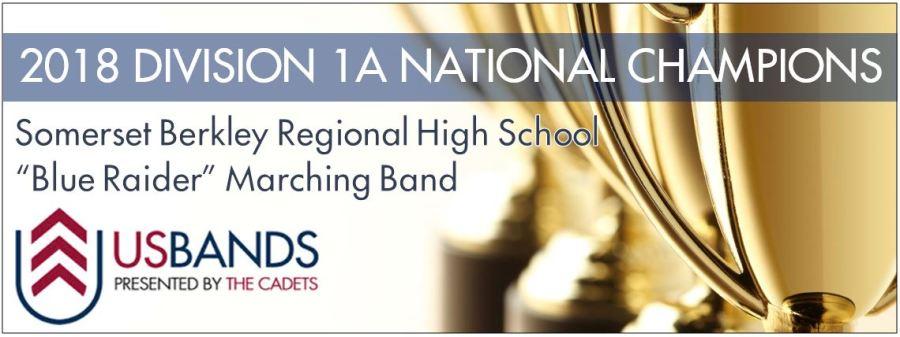2018 USBands Division 1A National Championship Banner
