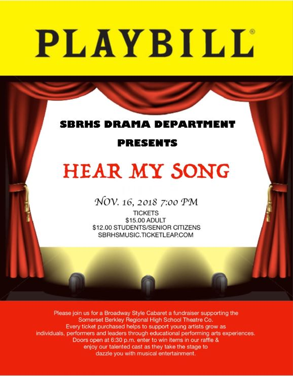 Hear My Song Broadway Cabaret
