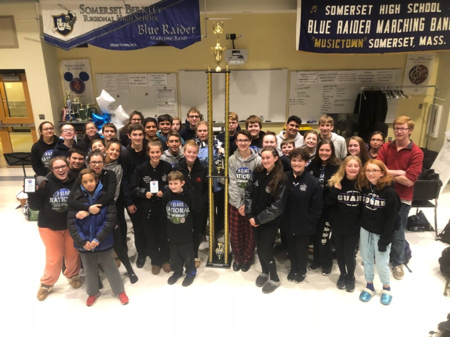 SBRHS Blue Raider Marching Band - November 3, 2018 - USBands Nationals 5