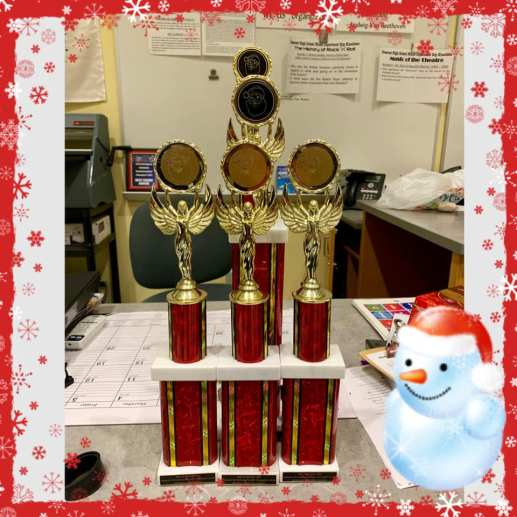 SBRHS Blue Raider Marching Band Quincy Christmas Parade - November 25, 2018 - 3