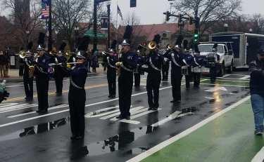 SBRHS Blue Raider Marching Band Quincy Christmas Parade - November 25, 2018 - 5