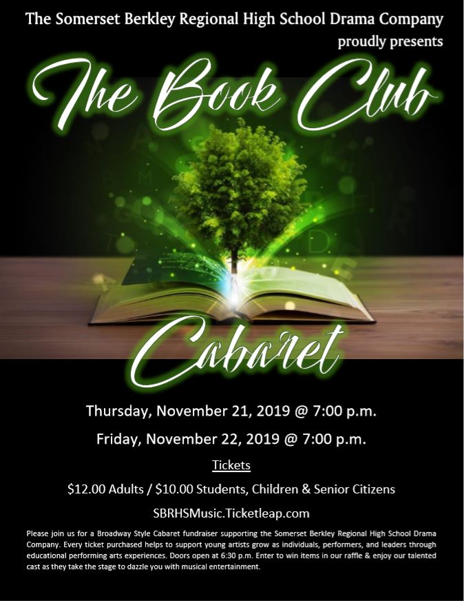 The Book Club Cabaret Poster